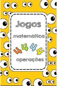 Jogos para fixar as 4 operações matemáticas